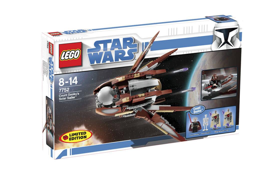 LEGO Star Wars Звёздный корабль графа Дуку (7752)
