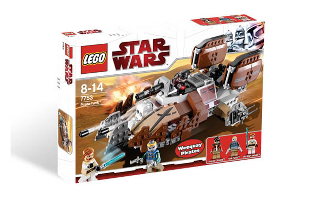 LEGO Star Wars Танк пиратів (7753)