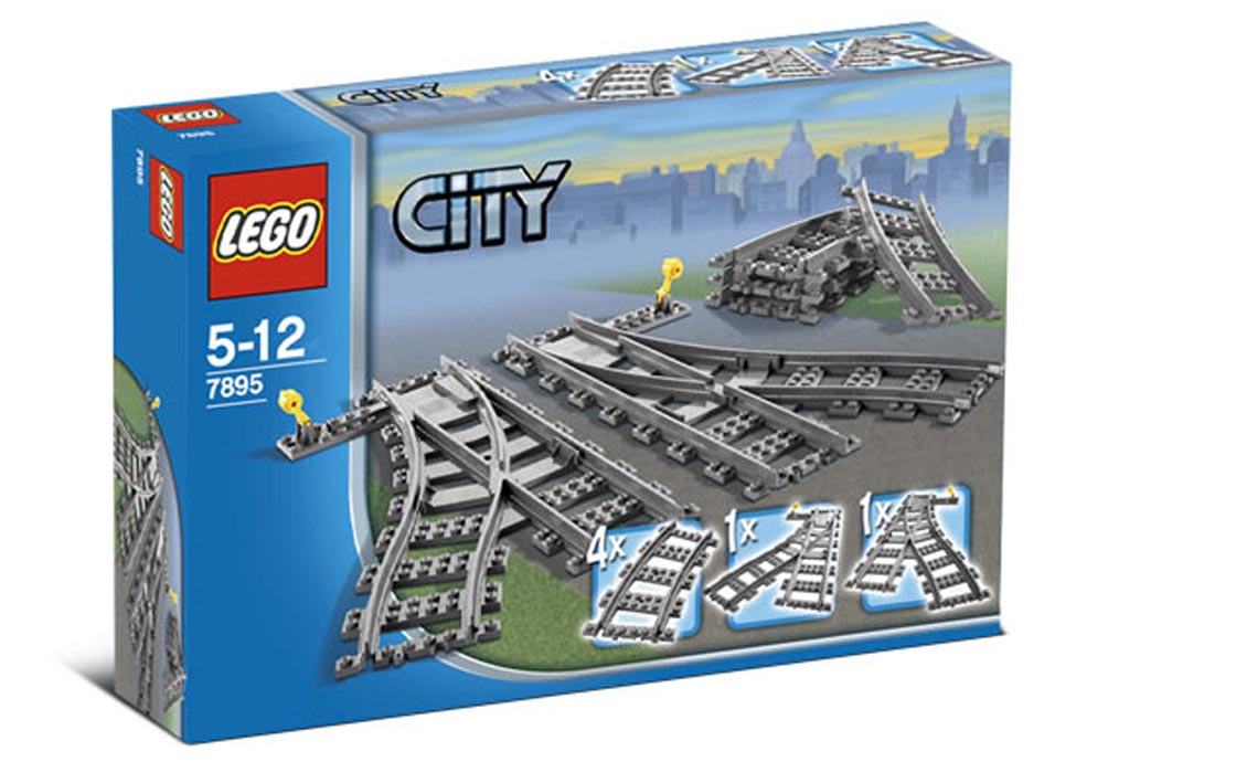 LEGO City Железнодорожные стрелки (7895)