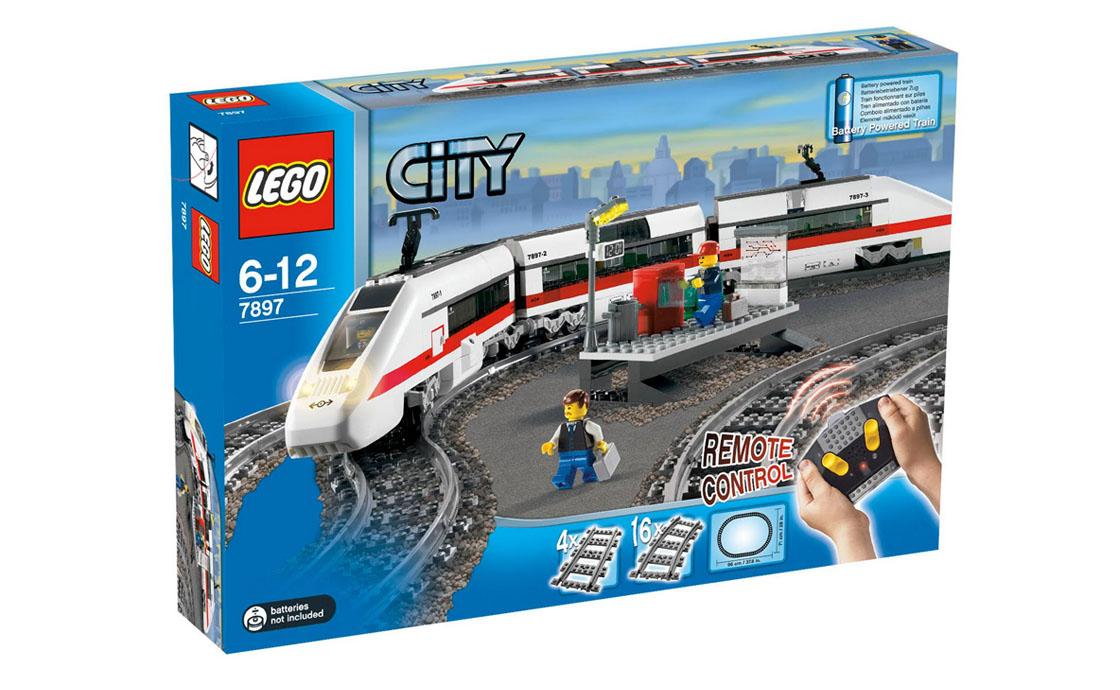 LEGO City Пассажирский поезд (7897)