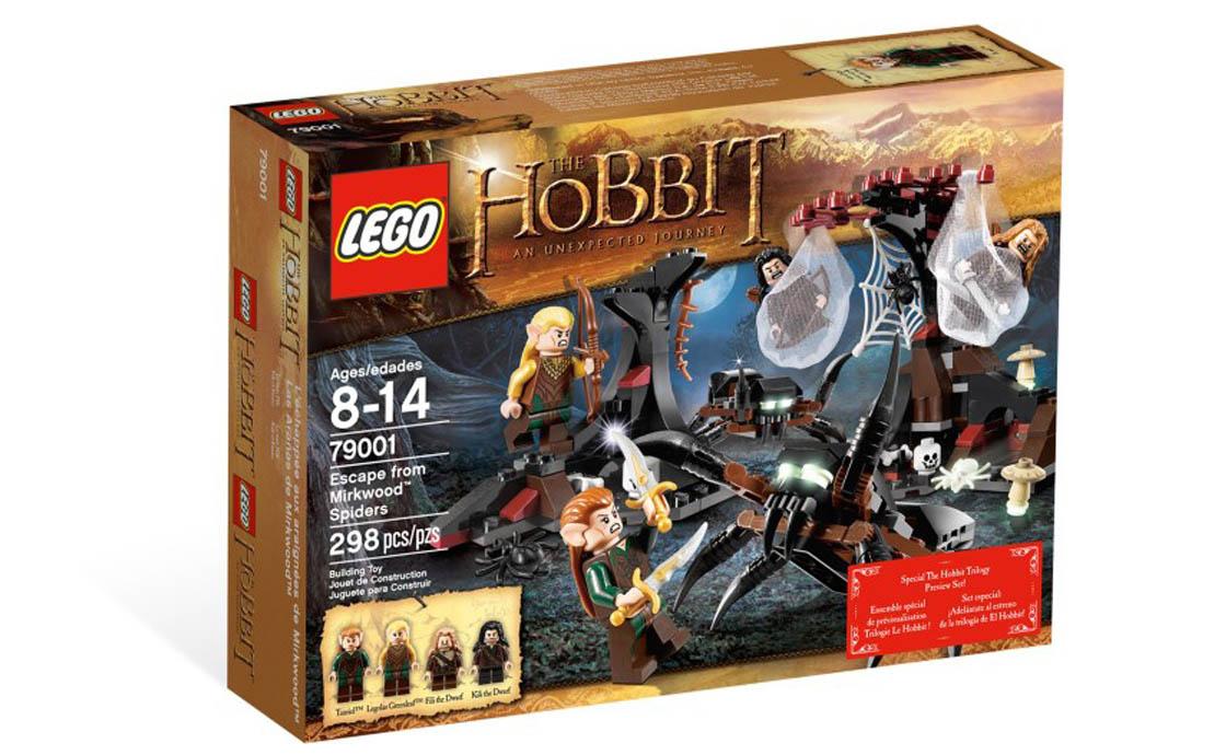 LEGO The Lord of the Rings Бегство от гигантских пауков (79001)