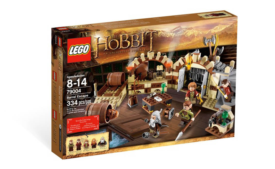 LEGO The Lord of the Rings Побег в винных бочках (79004)
