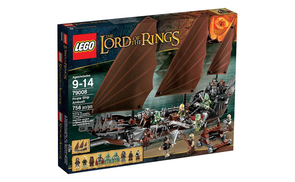 LEGO The Lord of the Rings Атака на пиратский корабль (79008)