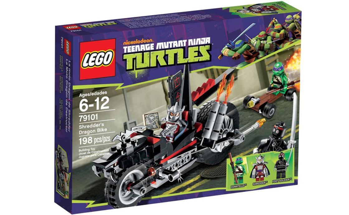 LEGO Ninja Turtles Драконий мотоцикл Шредера (79101)