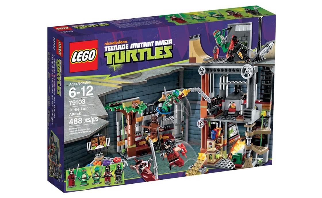 LEGO Ninja Turtles Атака на базу (79103)