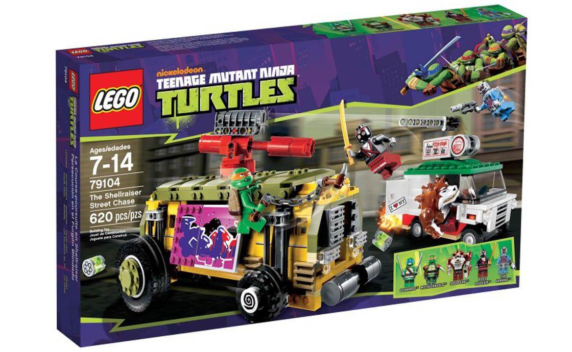 LEGO Ninja Turtles Погоня на панцирном танке Черепашек-Ниндзя (79104)