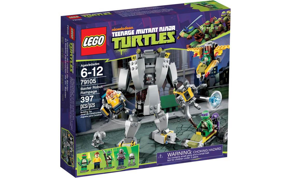 LEGO Ninja Turtles Нападение робота Бакстера (79105)