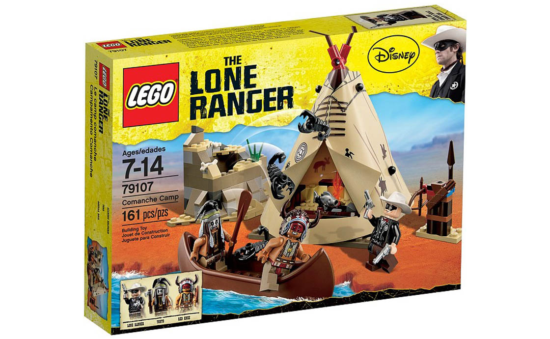 LEGO The Lone Ranger Лагерь Команчи (79107)