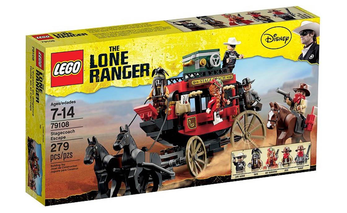 """LEGO The Lone Ranger Lego """"Побег на дилижансе"""" The Lone Ranger (79108)"""