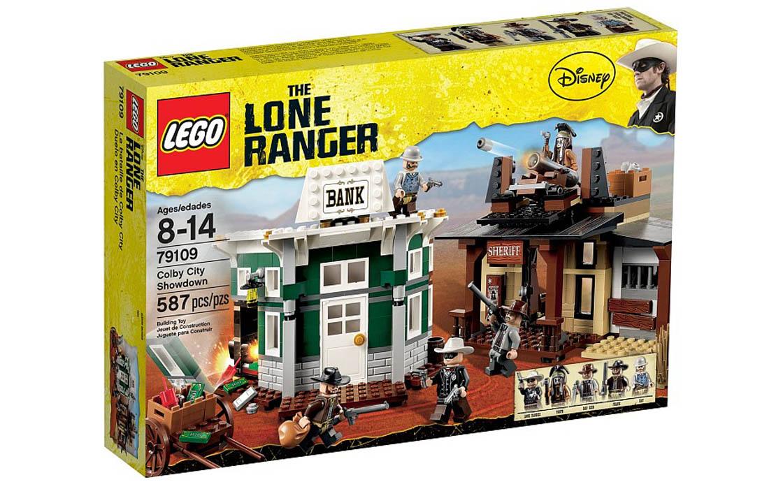 LEGO The Lone Ranger Поединок в Колби Сити (79109)