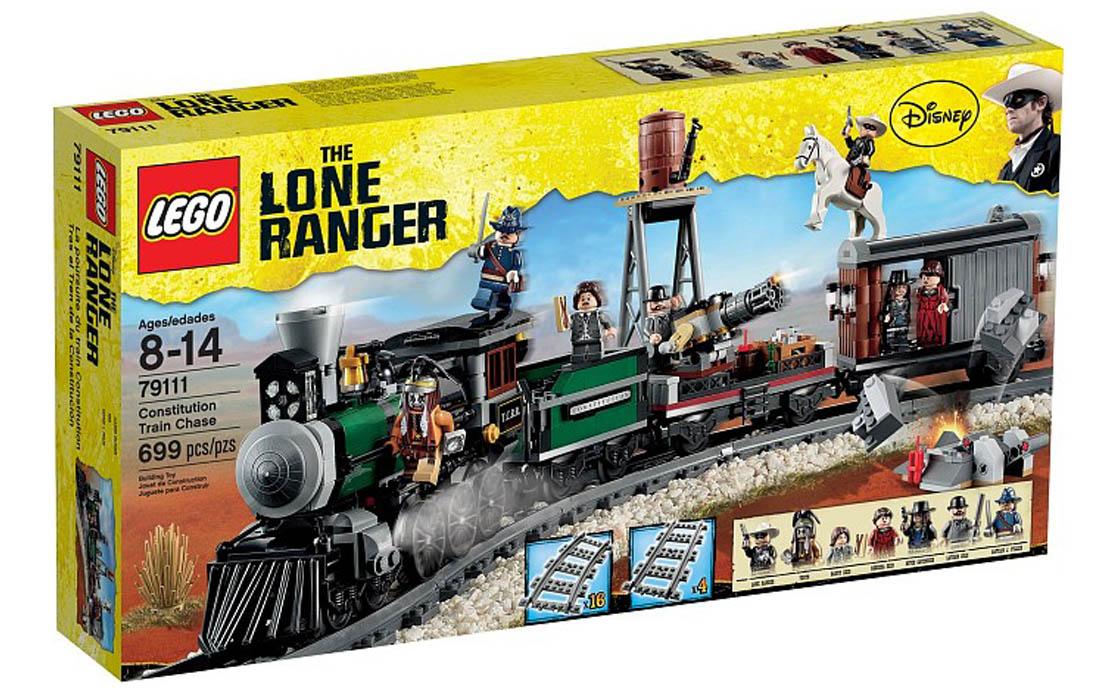 LEGO The Lone Ranger Преследование федерального поезда (79111)