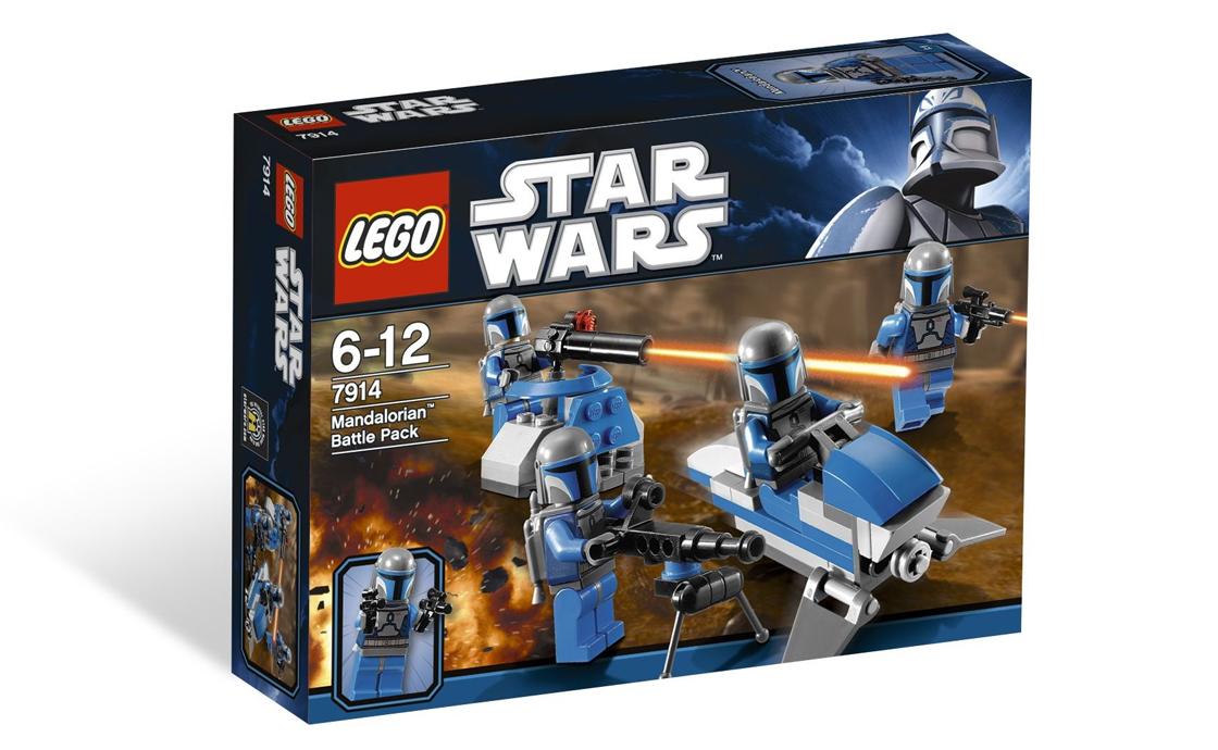 LEGO Star Wars Отряд Мандалорианцев (7914)