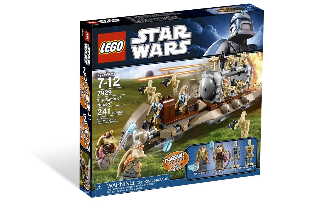 LEGO Star Wars Битва за Набу (7929)