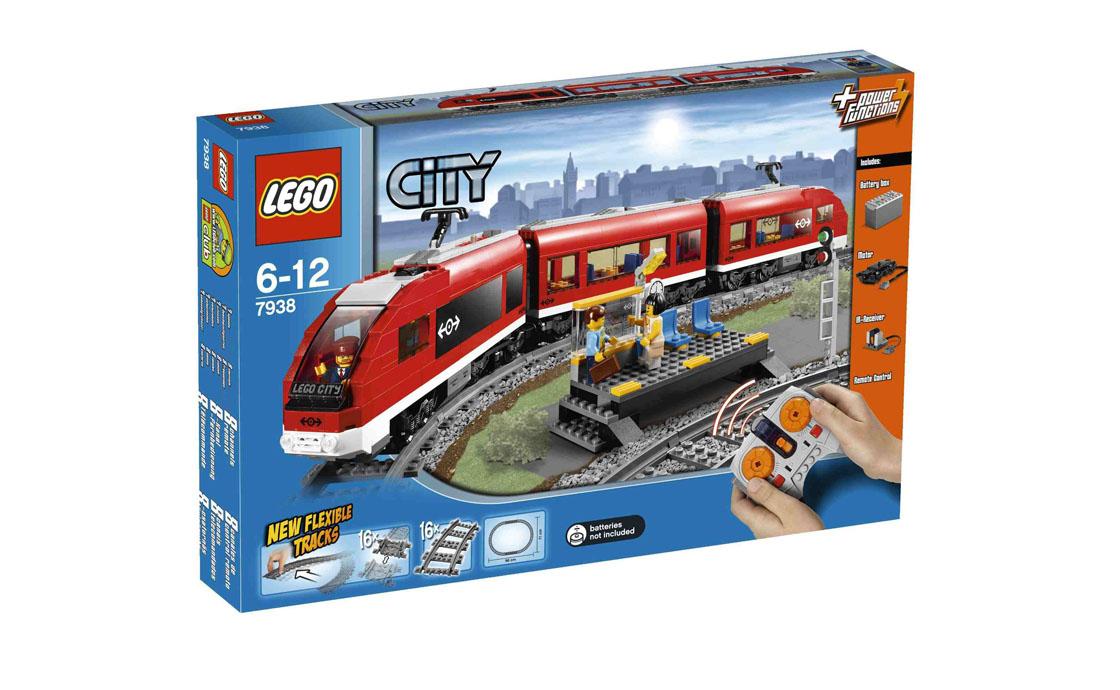 LEGO City Пассажирский поезд (7938)