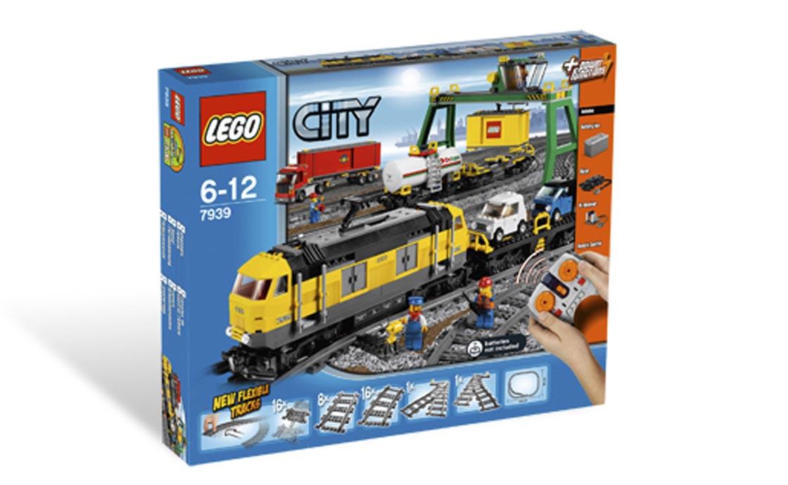 LEGO City Товарный поезд (7939)