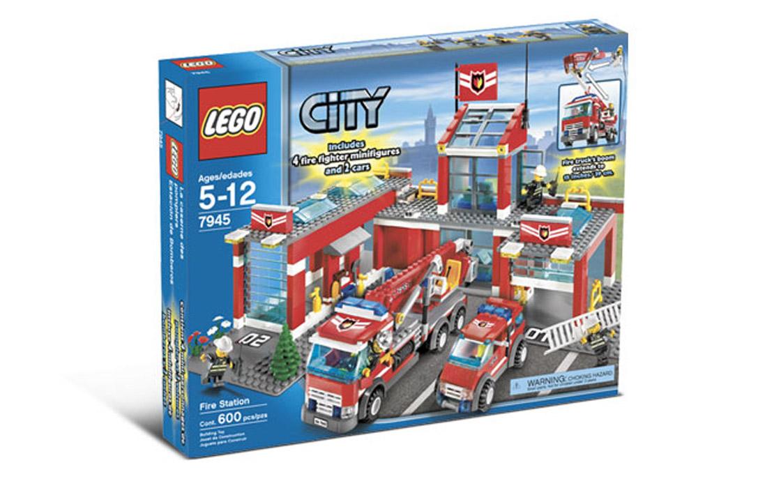 LEGO City Пожарная станция (7945)