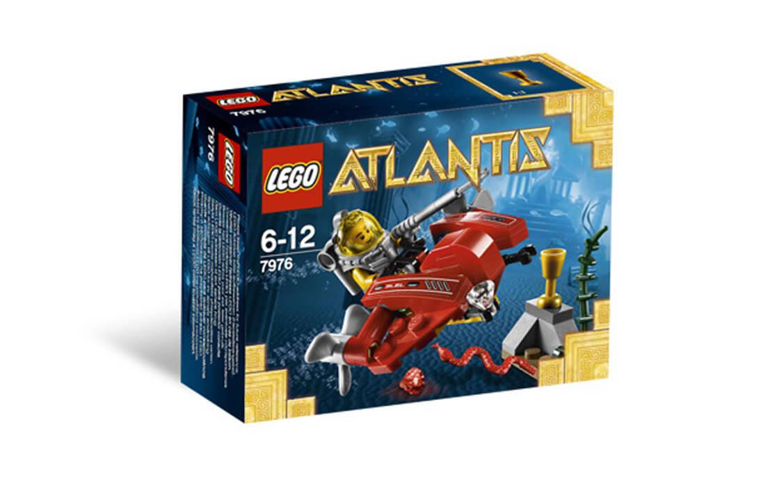 Раритет LEGO Atlantis Океанический Спидер (7976)