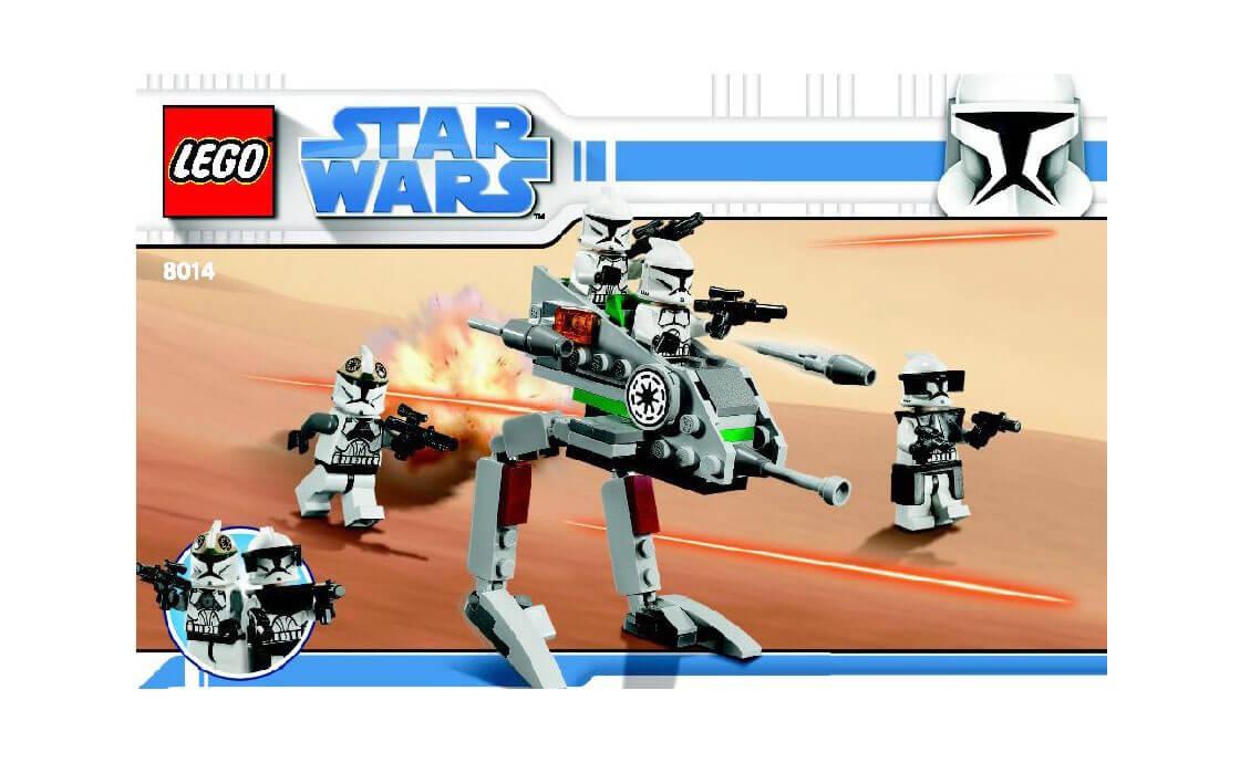 LEGO Star Wars Шагающие роботы-клоны (8014)