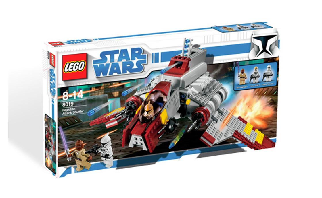 LEGO Star Wars Штурмовик республиканцев (8019)