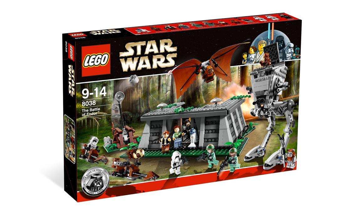 LEGO Star Wars Битва на Эндоре (8038)