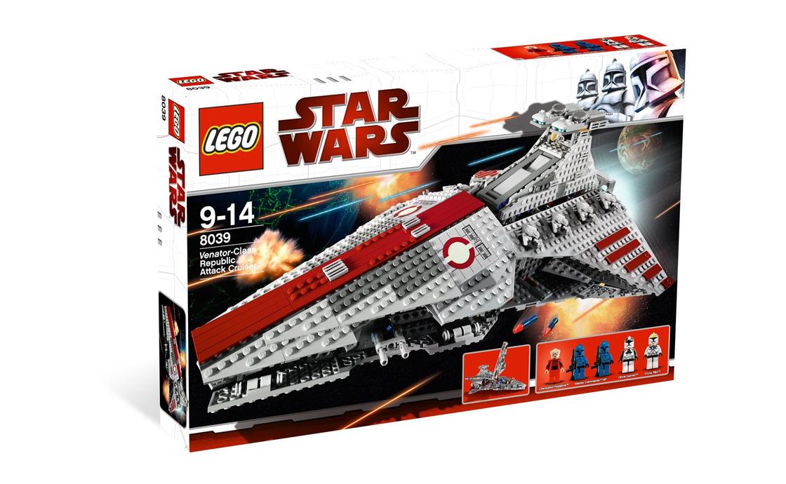 LEGO Star Wars Атакующий крейсер республиканцев (8039)