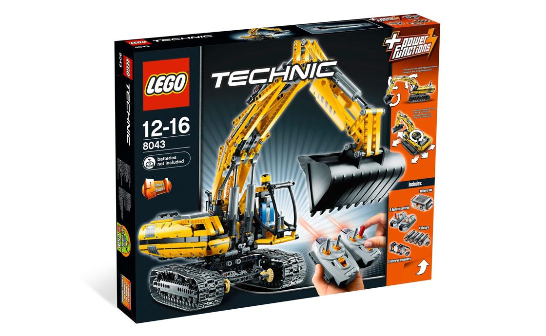 LEGO Technic Экскаватор с мотором (8043)