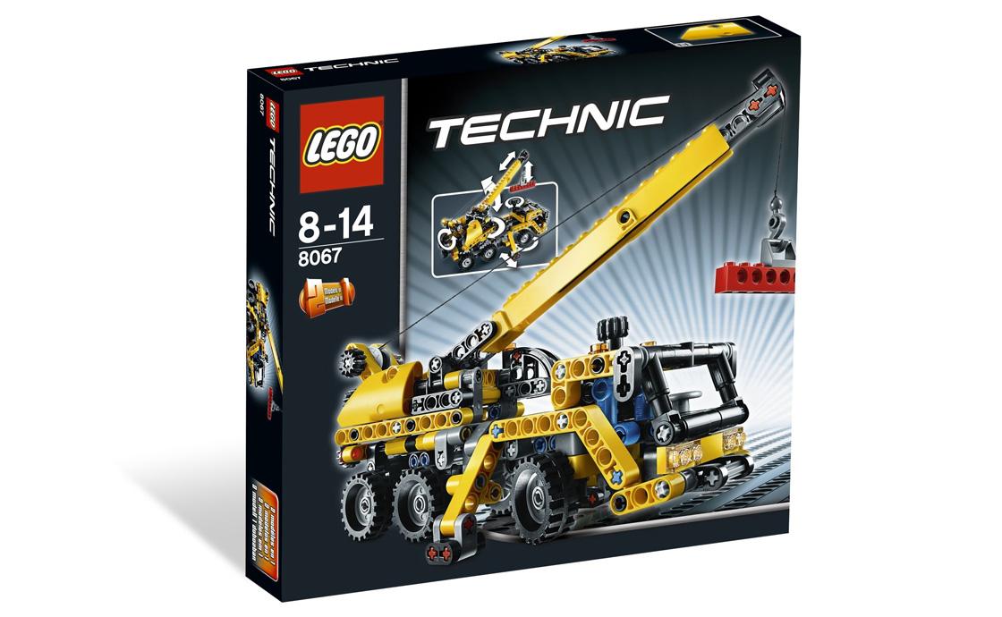 LEGO Technic Передвижной мини-кран (8067)