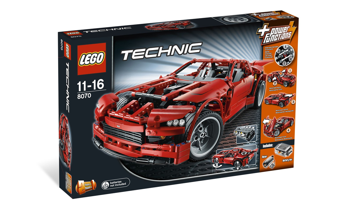 LEGO Technic Суперавтомобиль (8070)