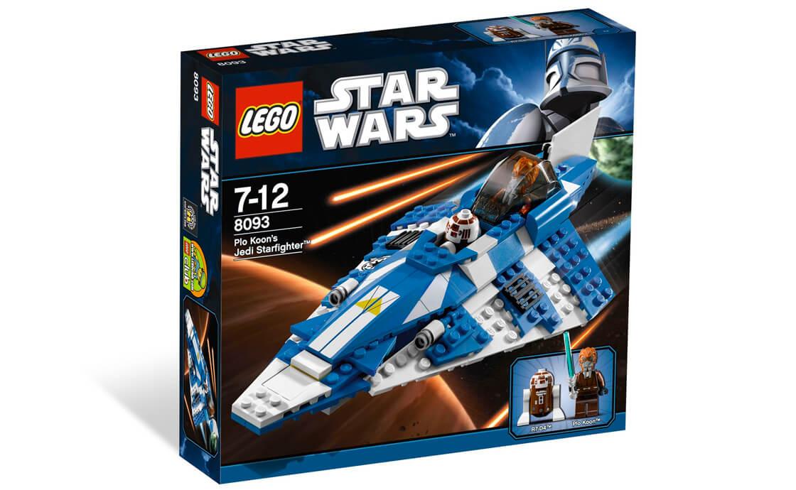 LEGO Star Wars Джедайський Старфайтер Пло-Куна (8093_1)
