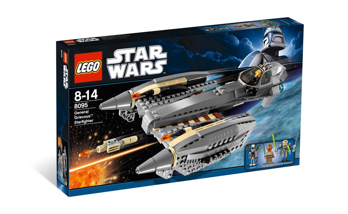 LEGO Star Wars Звездолёт генерала Гривуса (8095)