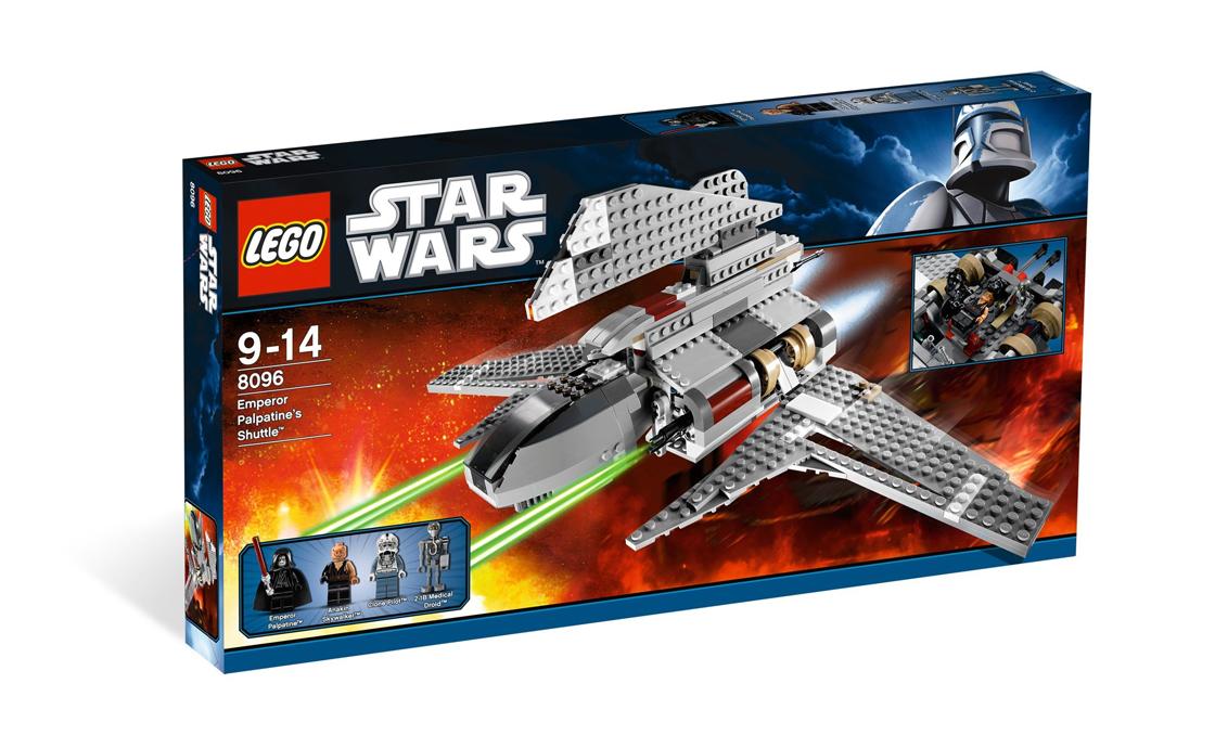 LEGO Star Wars Шаттл Императора Палпатина (8096)