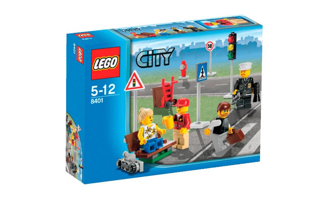 LEGO City Коллекция мини фигурок (8401)