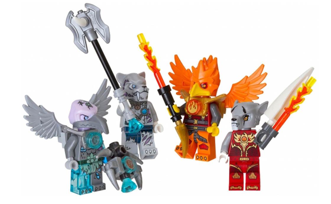 "LEGO Accessories Набор фигурок ""Огонь и лёд"" (850913)"