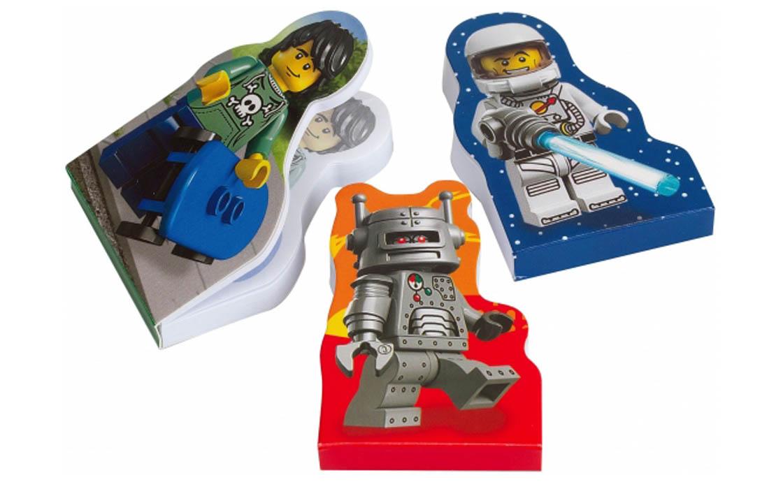 LEGO Accessories Блокноты с минифигурками (851320)
