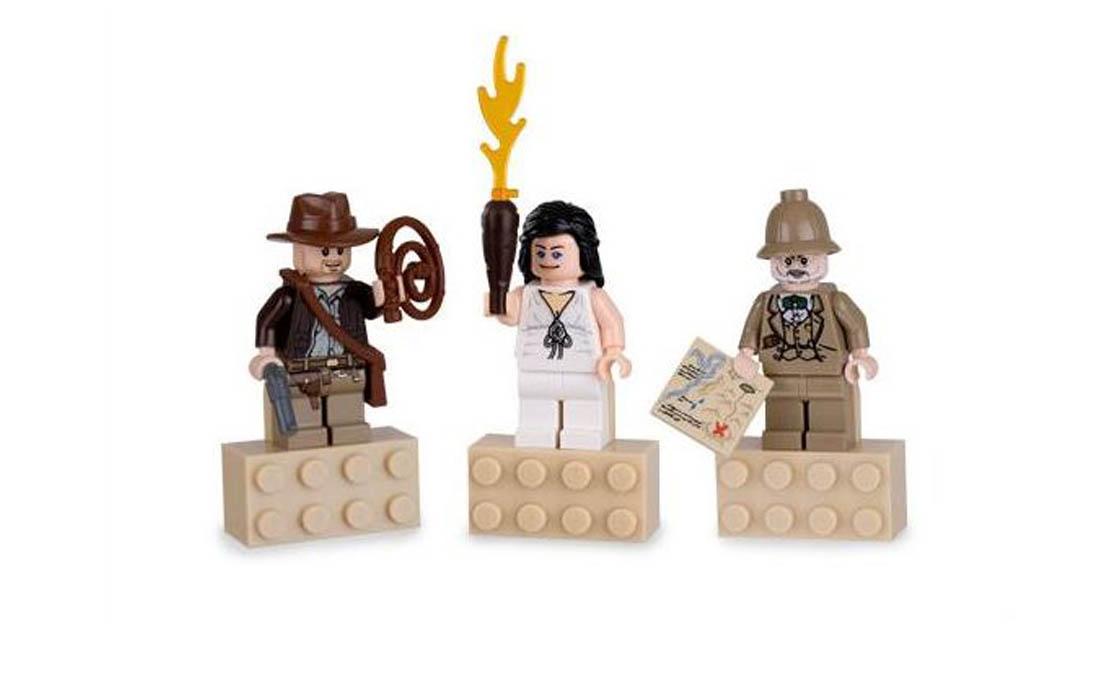 LEGO Minifigures Минифигурки из серии Индиана Джонс магниты (852504)
