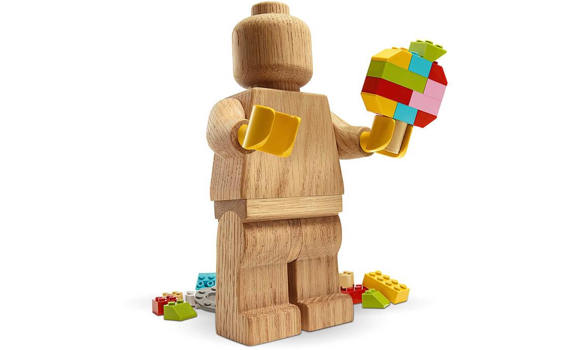 LEGO Exclusive Деревянная минифигурка LEGO® ORIGINALS (853967)