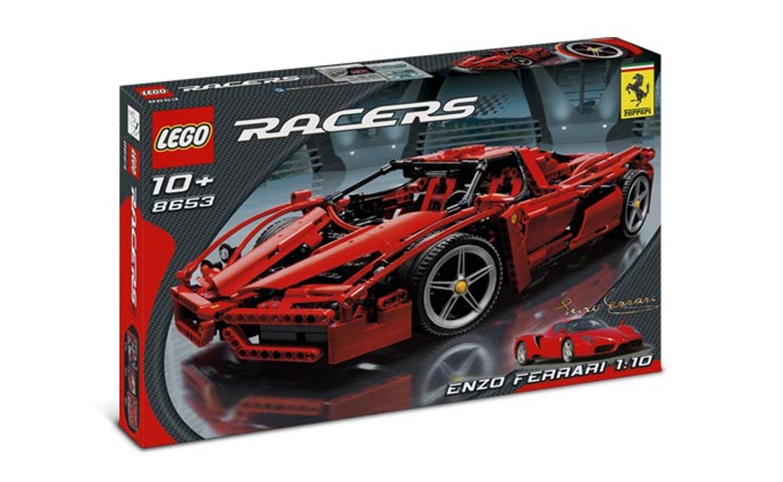 LEGO Exclusive Enzo Ferrari (Энцо Феррари) (8653)