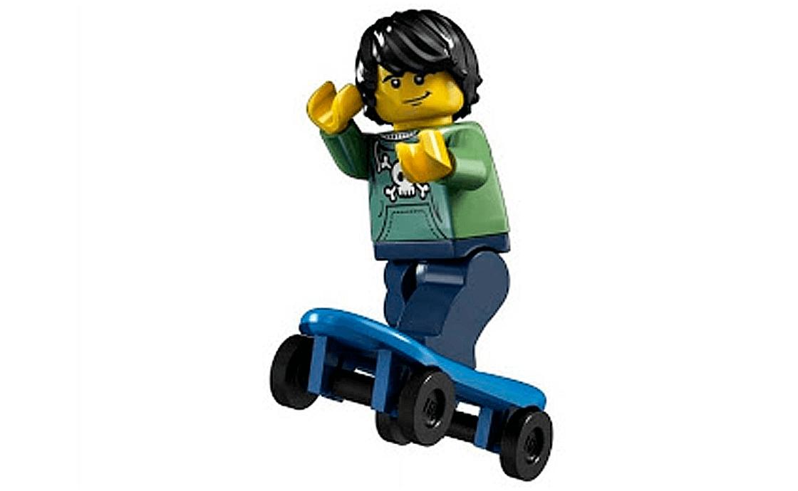 LEGO Minifigures Скейтбордист (8683-6)