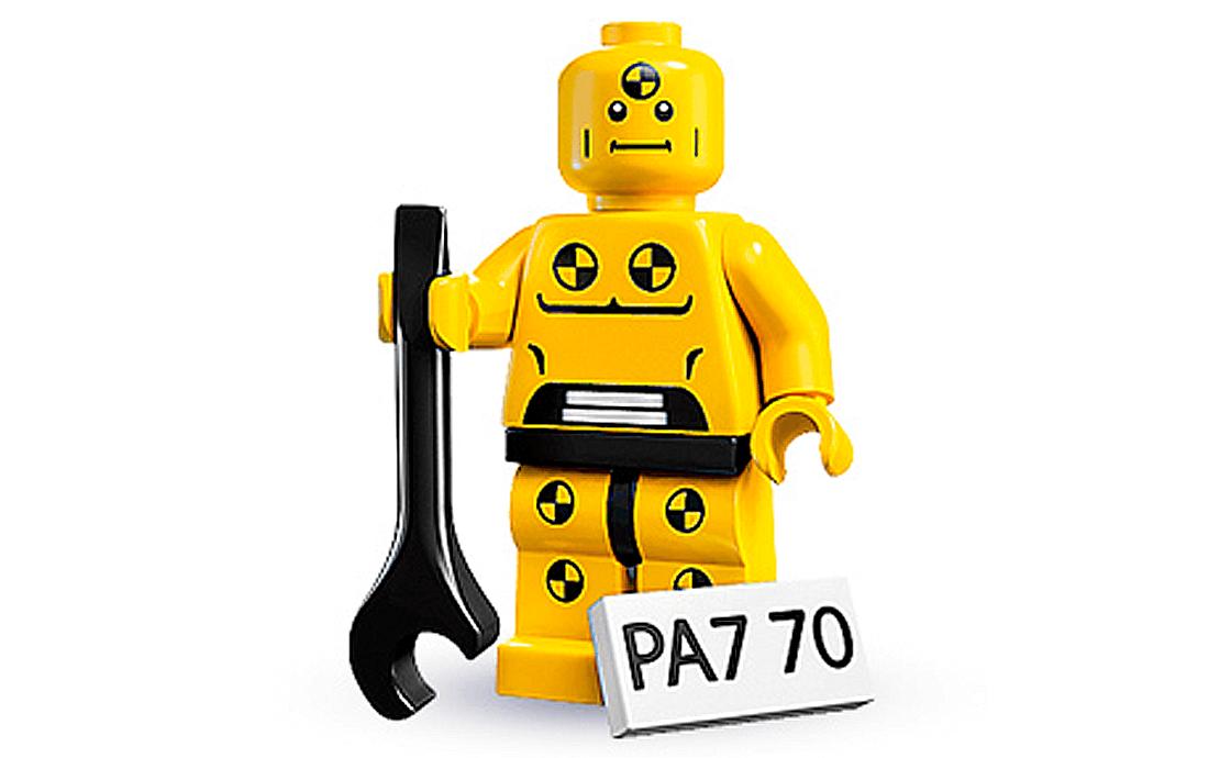 LEGO Minifigures Разрушитель (8683-8)
