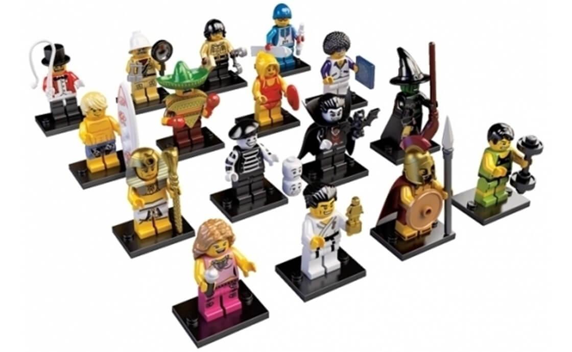 LEGO Minifigures Серия 2: полная коллекция (8684-18)