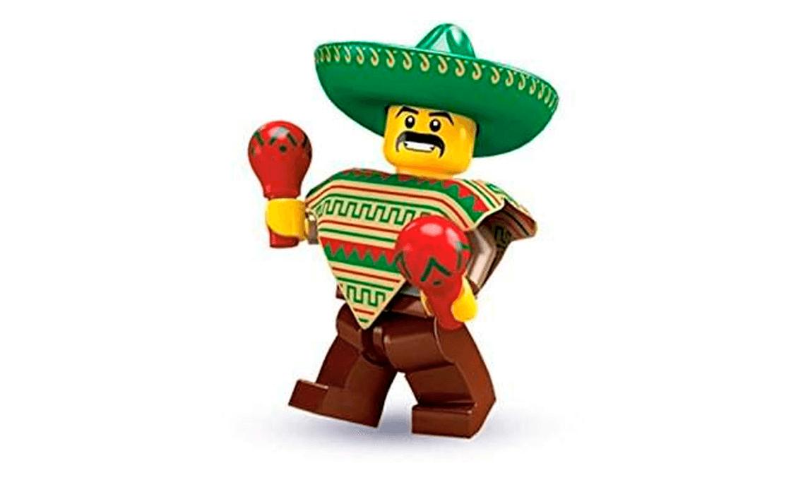 LEGO Minifigures Мексиканец (8684-1)