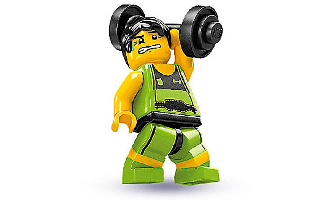 LEGO Minifigures Штангист (8684-10)