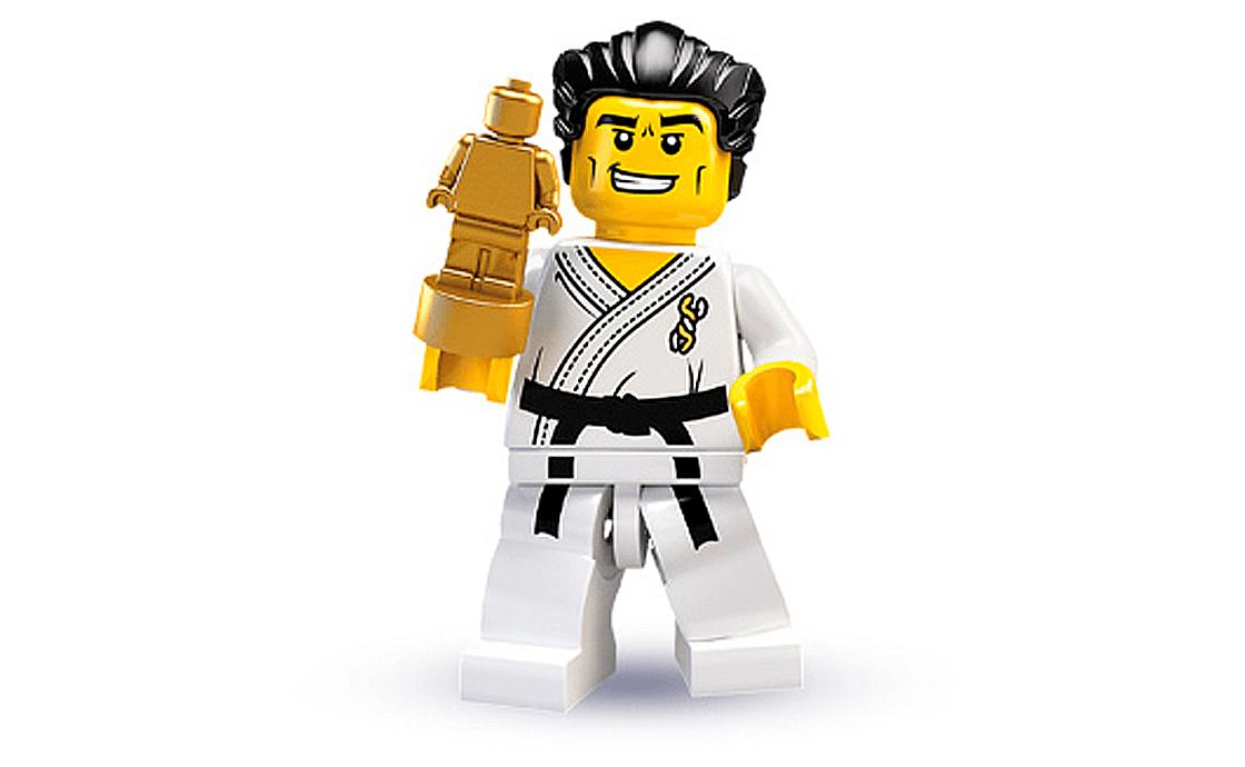 LEGO Minifigures Каратист (8684-14)