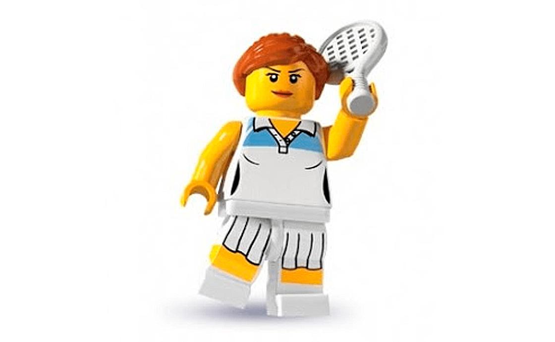 LEGO Minifigures Теннисистка (8803-10)
