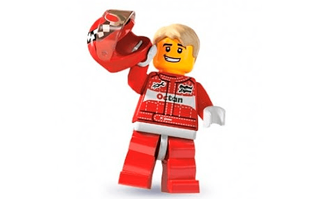 LEGO Minifigures Автогонщик (8803-11)