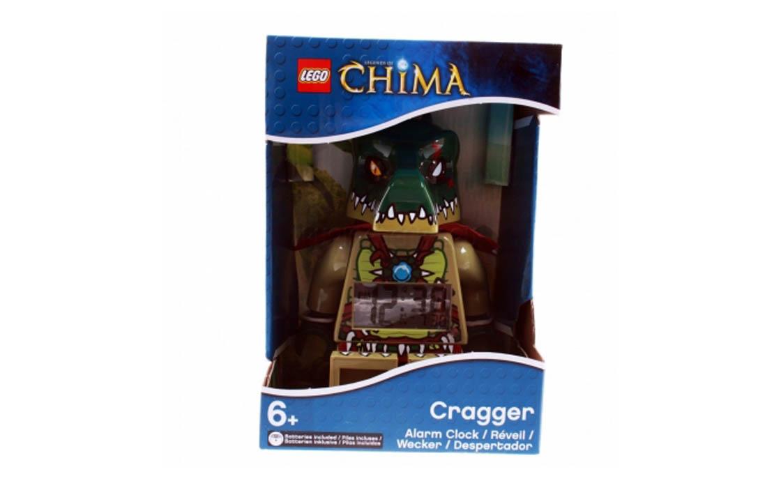 Часы LEGO Chima Будильник Краггер (9000577)