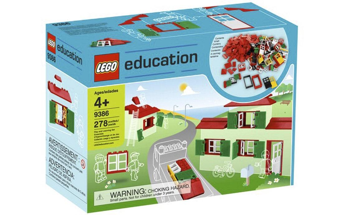 LEGO Education Набор дверей, окон и черепицы (9386)