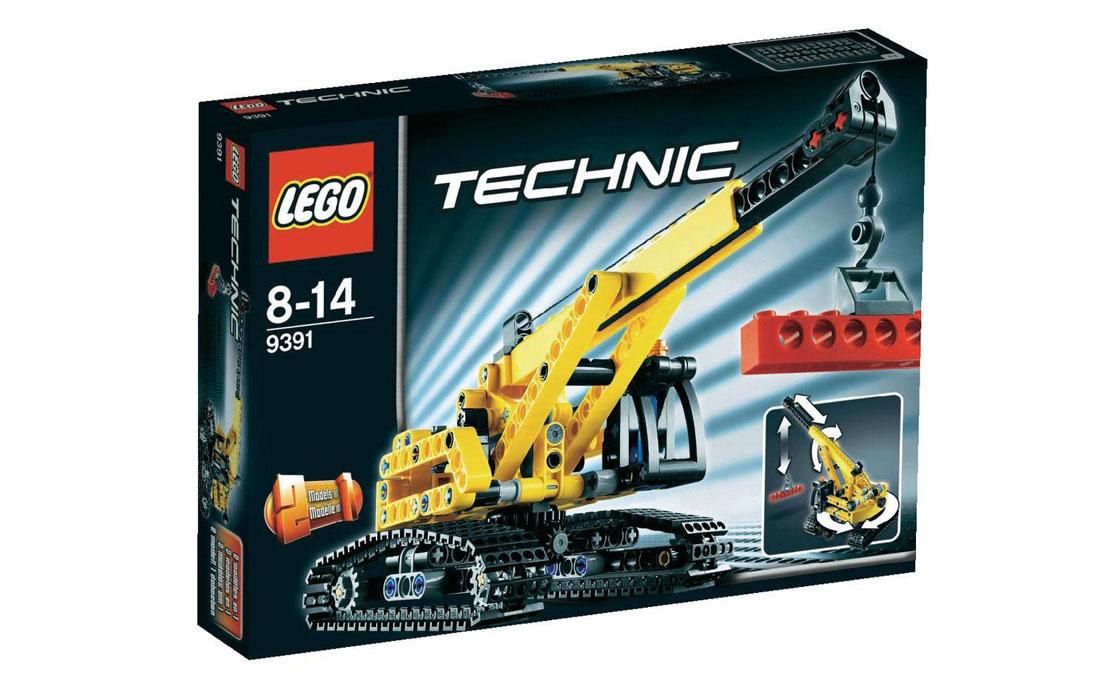 LEGO Technic Гусеничный кран (9391)