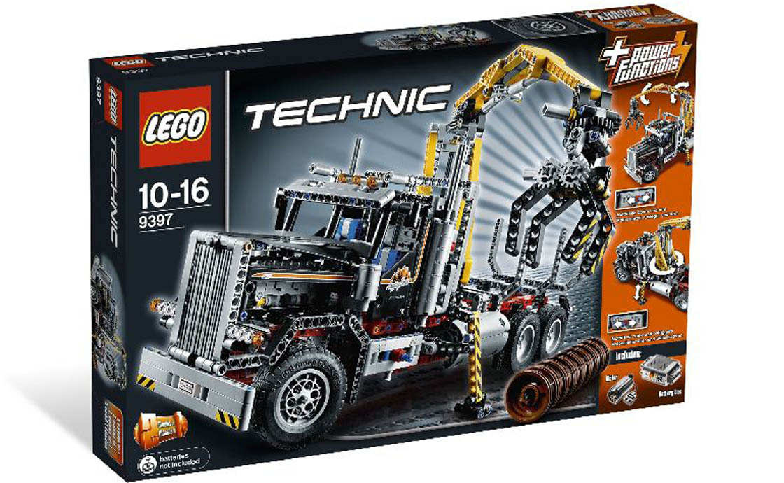 LEGO Technic Лесопогрузчик (9397)
