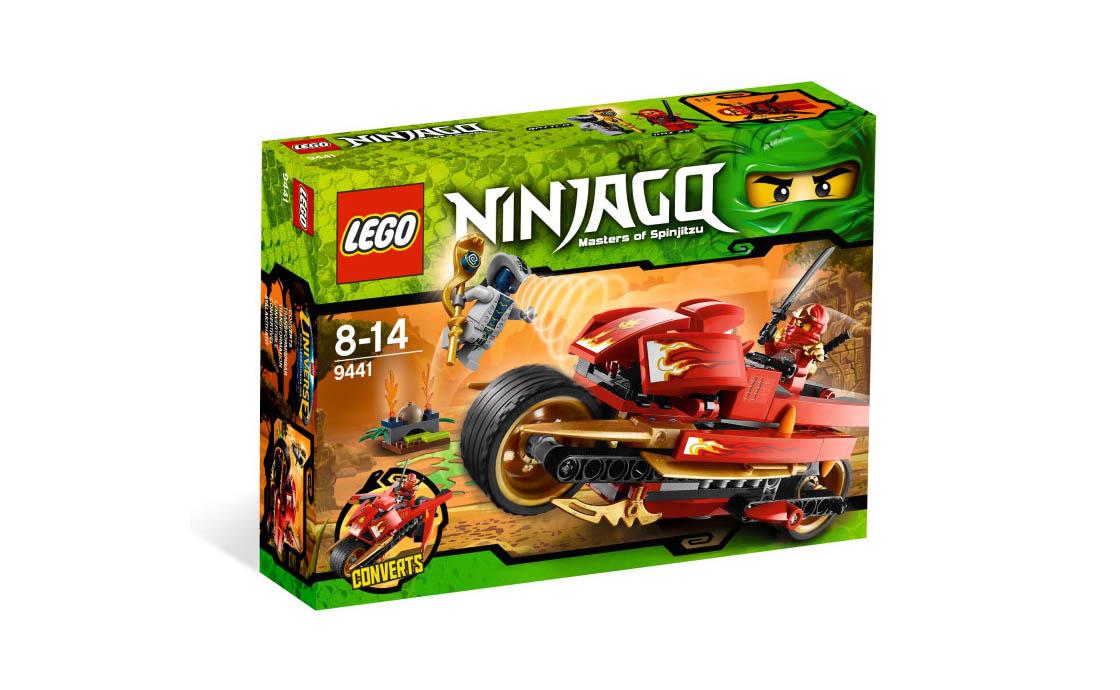 LEGO NINJAGO Мотоцикл Кая (9441)